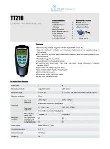 TT210 Catalog