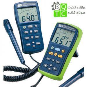 رطوبت سنج دیجیتال و دیتالاگر دما مدل TES-1365