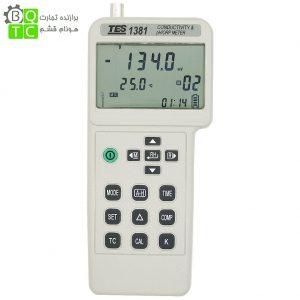 PH متر و کیفیت سنج آب مدل TES-1381