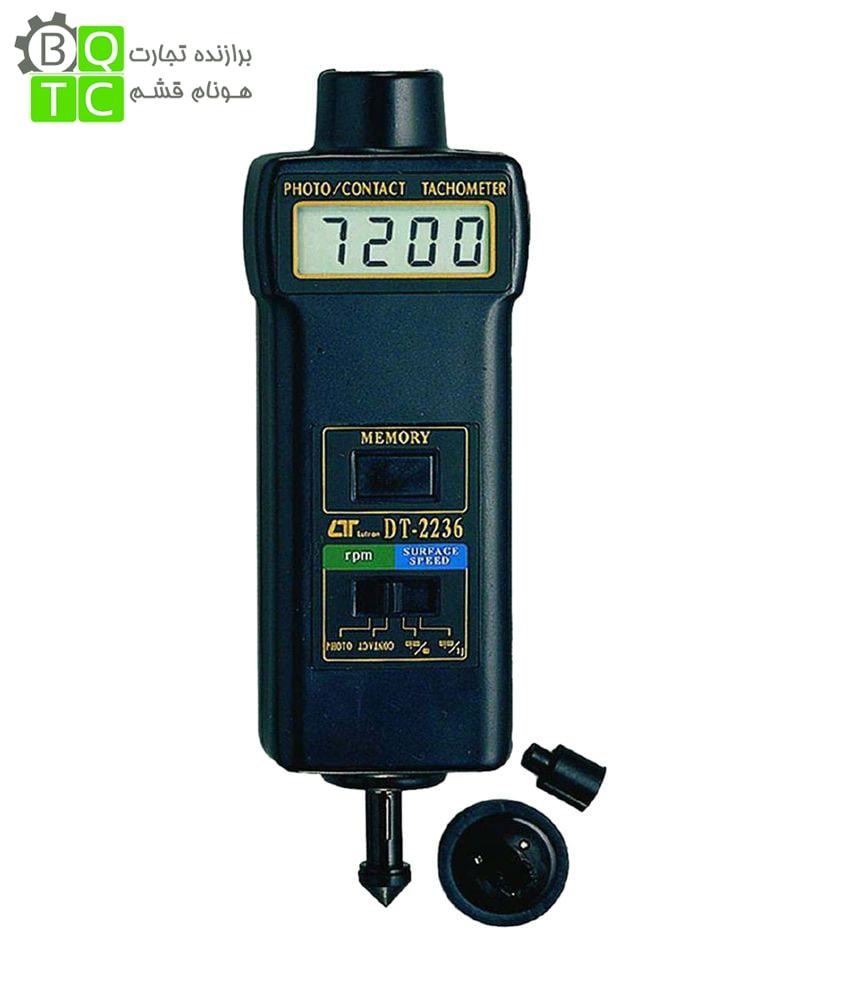 تاکومتر نوری و مکانیکی مدل DT-2236 کمپانی Lutron