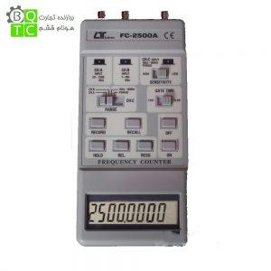 فرکانس متر دیجیتال پرتابل مدل FC-2500 لوترون