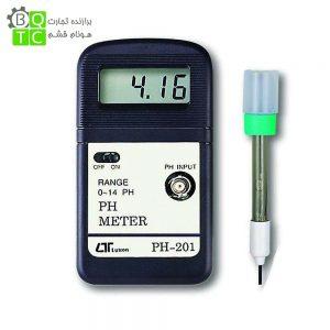 ph متر اسید سنج مدل PH-201 ساخت کمپانیLutron تایوان