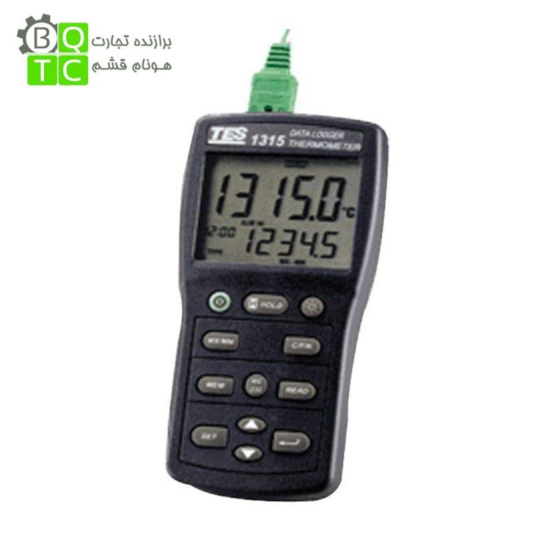 حرارت سنج تماسی دیتالاگر مدل TES-1315