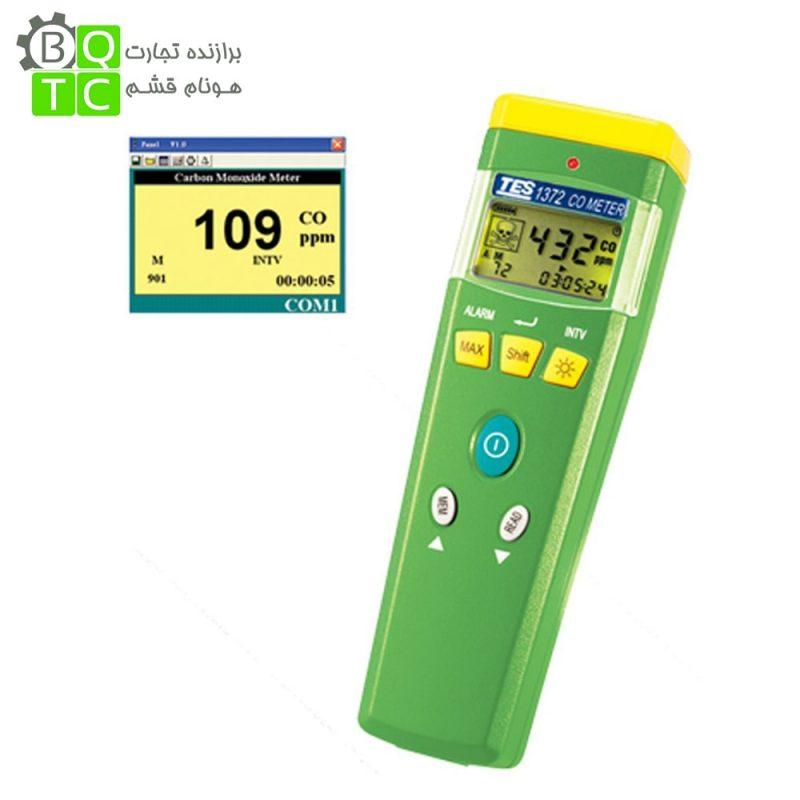 CO متر قلمی دیجیتال مدل TES-1372 ساخت کمپانیTES تایوان