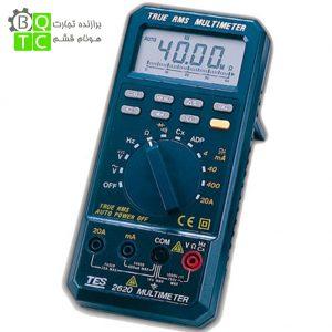 مولتی متر دیجیتال True RMS مدل TES-2620
