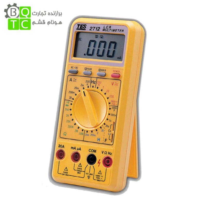 مولتی متر LCR متر مدل TES-2712