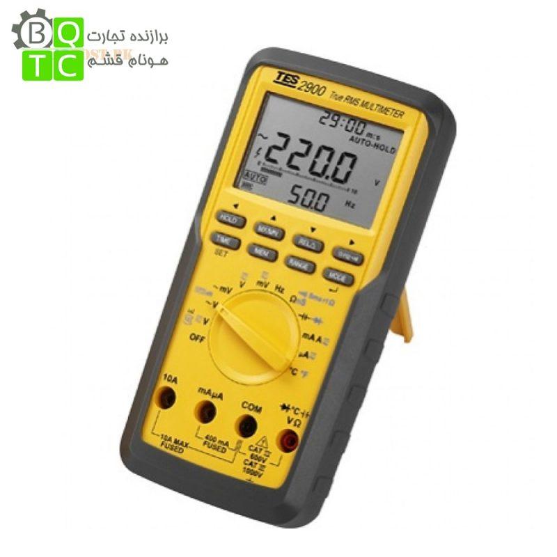 مولتی متر دستی دیجیتال مدل TES-2900